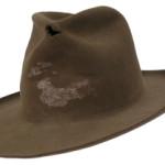 Jeff Bridges' cowboy hat from 'True Grit.' Premiere Props image.