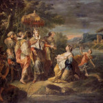 An example of Italian master Gaspare Diziani's work: 'The Finding of Moses.' Image courtesy of Wikimedia Commons.