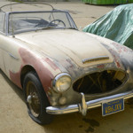 1965 Austin Healey 3000 Mk III, not running, sold for $14,160. Michaan's Auctions image.