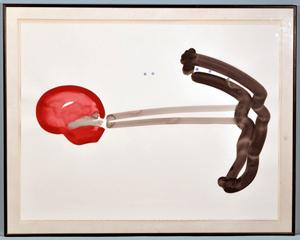 Philip Renteria's 'Untitled.' Lewis & Maese Auction Co. image.
