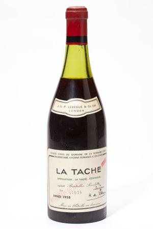 1958 La Tache. Domaine de la Romanee Conti. Leland Little Auctions image.