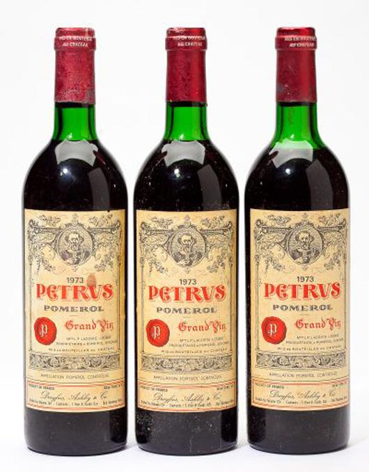1973 Petrus. Leland Little Auctions image.