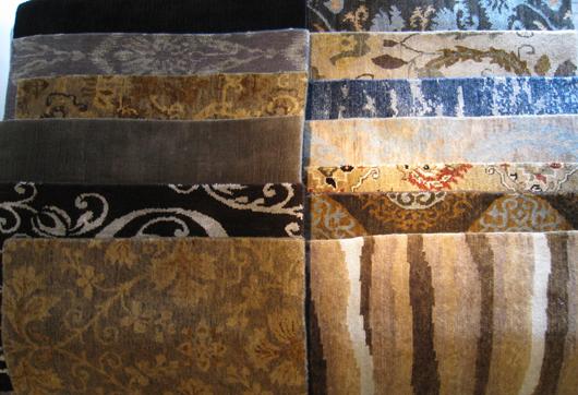 Multiple Tibetan Rugs. Aaron's Oriental Rug Gallery image.