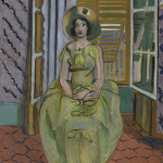 Henri Matisse (French, 1869-1954), 'The Yellow Dress,' 1929-1931, oil on canvas, 39 9/16 x 32 1/8 inches (100.5 x 81.6 cm), the Baltimore Museum of Art: the Cone Collection, formed by Dr. Claribel Cone and Miss Etta Cone of Baltimore, Md., BMA 1950.256. Photographer: Mitro Hood.