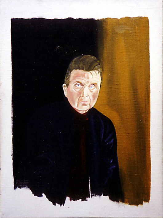 Portrait of artist Francis Bacon by Reginald Gray. Image courtesy of Wikimedia Commons.