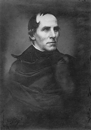 An early photograph of American painter Thomas Cole. Image courtesy of Wikimedia Commons.