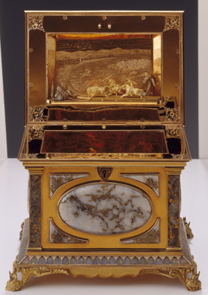 The Gold Rush-era jewelry box is worth more than $800,000. Image courtesy Oakland Museum of California.