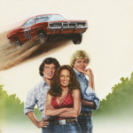 Original artwork from 'The Dukes of Hazzard' (CBS-TV, 1999-85) starring Catherine Bach, John Schneider and Tom Wopat. Image courtesy of LiveAuctioneers.com Archive and Profiles in History.