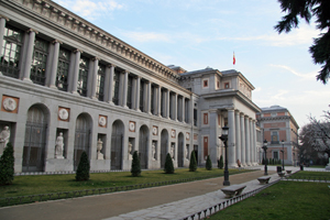 The west facade of the Prado Museum in Madrid. Image by Brian Snelson. This file is licensed under the Creative Commons Attribution 2.0 Generic license.
