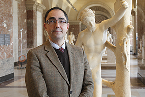 Jean-Luc Martinez. Image courtesy of the Louvre.