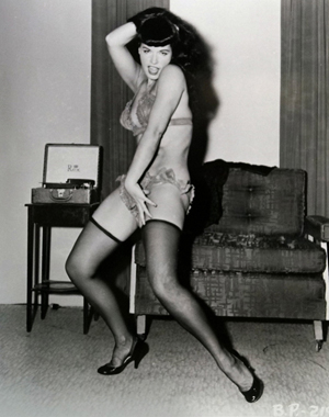 Bettie Page stars in Guernsey's auction April 6-7