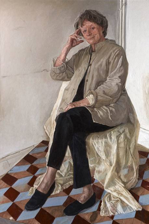 Dame Maggie Smith by James Lloyd, 2012 © National Portrait Gallery, London; commissioned by the National Portrait Gallery.