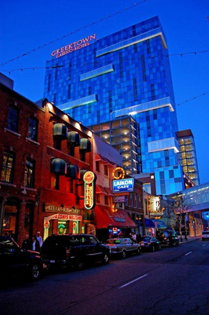 Greektown in Detroit. This file is licensed under the Creative Commons Attribution-Share Alike 3.0 Unported license.