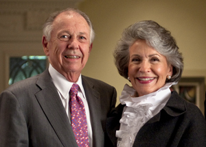 William and Linda Custard of Dallas have made a $1 million gift to SMU to endow the directorship of the Meadows Museum and Centennial Chair in the Meadows School of the Arts at the university. Image courtesy of SMU.