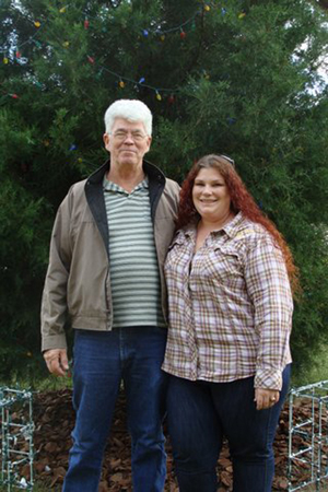 Charles Fudge and his daughter Amy Stalker, owner of ATM Antiques and Auctions LLC.