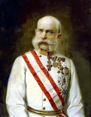 Emperor Franz Joseph of Austria (1830-1916). Image courtesy of Wikimedia Commons.
