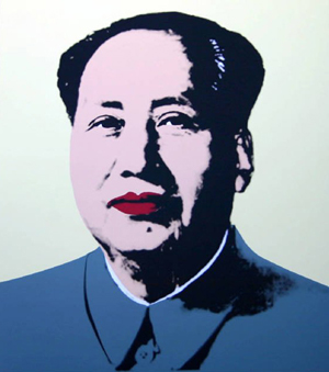 Mao's image omitted as Warhol exhibition opens in China