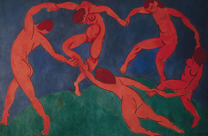 Henri Matisse's 'The Dance,' 1910, at the Hermitage in St. Petersburg. Image courtesy of Wikimedia Commons.