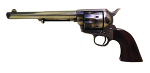 1873 Colt 'Pinch Frame' revolver. California Auctions image.