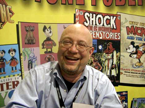 J.C. Vaughn, newly appointed vice president of publishing for Gemstone, publishers of The Overstreet Comic Book Price Guide and many other pop culture titles.