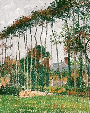 Camille Pissarro, Landscape at Varengeville, c. 1899, Perez Simon Collection, Mexico.