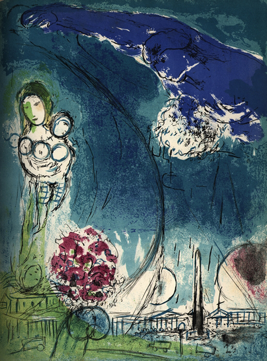 Book published by Verve – original lithographs by Chagall, Matisse and others. Kedem Auction House Ltd. image.