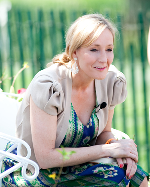 Harry Potter author J.K. Rowling. Image by Daniel Ogren. This file is licensed under the Creative Commons Attribution 2.0 Generic license.