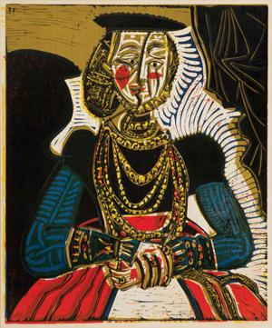 Picasso linoleum cut hits $572,500 at Hindman art auction