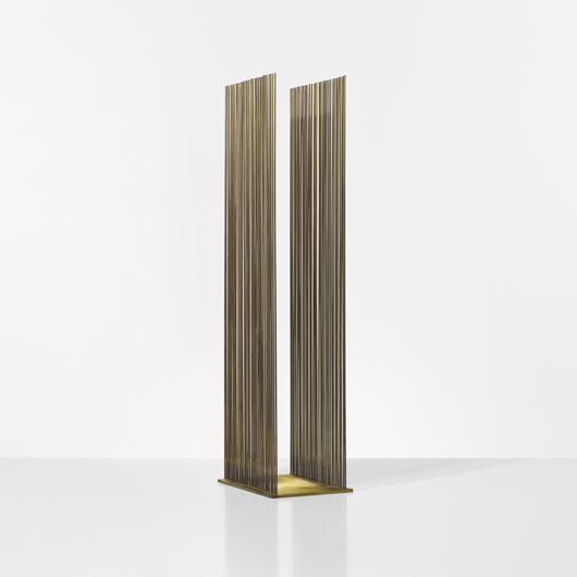 Harry Bertoia, Untitled (Sonambient). Estimate: $20,000-30,000. Wright image.