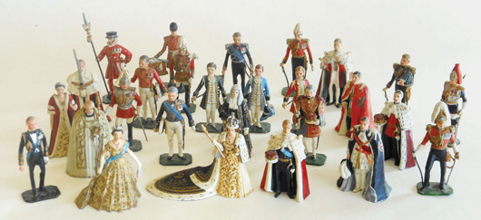 Graham Farish figures. Old Toy Soldier Auctions image.