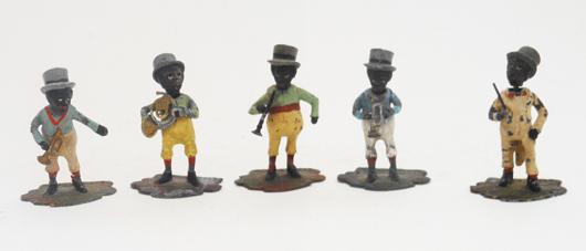Heyde minstrel nodder band. Old Toy Soldier Auctions image.