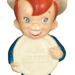 Speedy, the animated pitchman for Alka-Seltzer. Image courtesy of LiveAuctioneers.com archive and Dan Morphy Auctions.