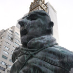 'United Enemies' by Thomas Schutte, New York City. Photo by Pamela Nguyen via RedesignRevoltion.com