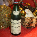 A bottle of Romanee-Conti Burgundy wine, 1975 vintage, 2008 photo by PRA, licensed under the Creative Commons Attribution-Share Alike 3.0 Unported license.