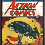Action Comics No. 1, graded 1.5 condition, that was found in the insulation of a Minnesota house and auctioned by ComicConnect.com for $175,000. Image courtesy of ComicConnect.com.