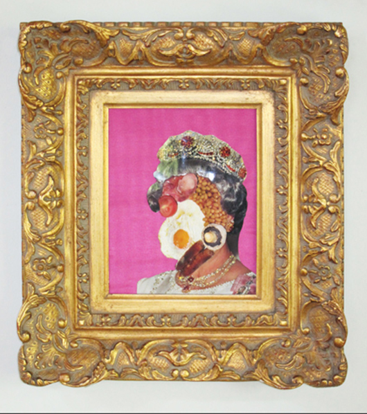 Genesis Breyer P-Orridge, 'English Breakfast,' 2009, from the artist's first solo exhibition titled S/he Is Her/e, currently on at The Warhol in Pittsburgh. Image courtesy of The Warhol.