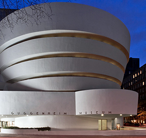 The Solomon R. Guggenheim Museum in New York City. Image courtesy of The Guggenheim.