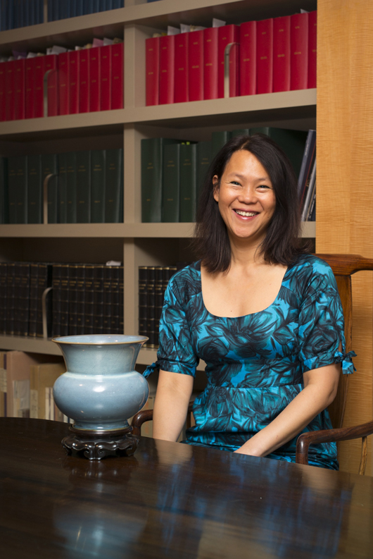 Sarah Wong, who has just been appointed a director of Eskenazi Ltd., the leading London-based dealers in Asian art. Image courtesy of Eskenazi Ltd.