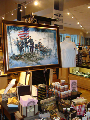 A display at the Gettysburg Museum gift shop. Image by Sallicio. This file is licensed under the Creative Commons Attribution-Share Alike 3.0 Unported license.
