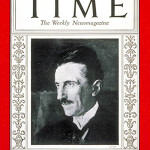 Inventor, engineer, physicist and futurist Nikola Tesla on the cover of the July 20, 1931 issue of Time Magazine.