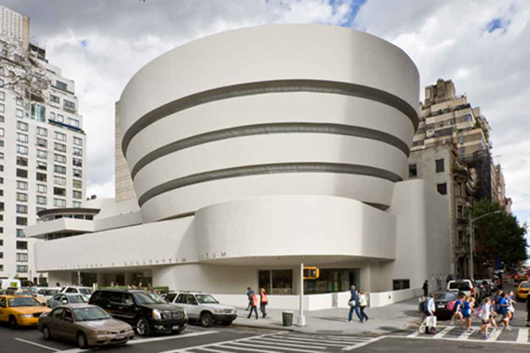The Guggenheim Museum in New York City. Image courtesy of the Guggenheim.