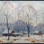Ernest Lawson oil on canvas. William Jenack image.