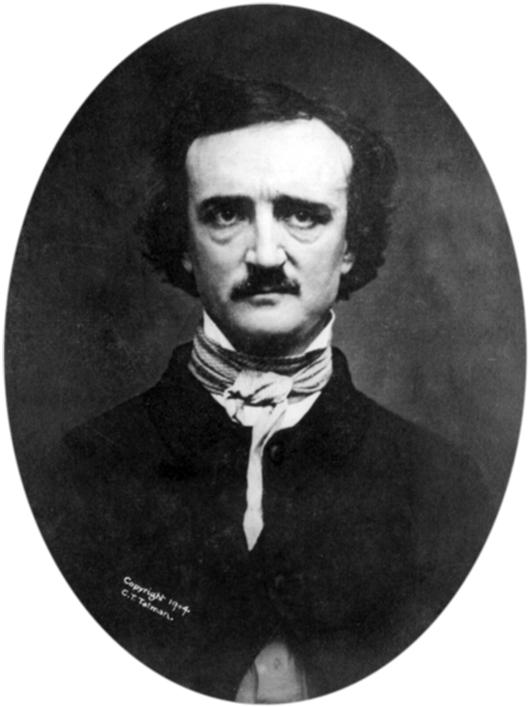 Retouched daguerreotype of Edgar Allan Poe (American, 1809-1849), taken by Edwin H. Manchester, Providence, Rhode Island, on Nov. 9, 1848.