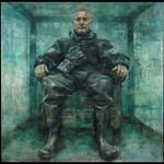 Damien Hirst by Jonathan Yeo. Copyright Jonathan Yeo.