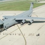 A C-5A Galaxy at Wright-Patterson Air Force Base, Dayton, Ohio. U.S. Air Force photo, courtesy of Wikimedia Commons.