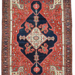 A Serapi carpet, Persia, circa 1880, approximately 19 feet 7inches x 13 feet 7 inches, in excellent condition. This carpet will be sold Sept. 21 by Austria Auction Co. Image courtesy of LiveAuctioneers.com and Austria Auction Co.