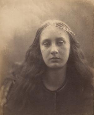 Julia Margaret Cameron (British (born India), Calcutta 1815–1879 Kalutara, Ceylon). 'Christabel,' 1866. The Metropolitan Museum of Art, New York, Harris Brisbane Dick Fund, 1941 (41.21.26)
