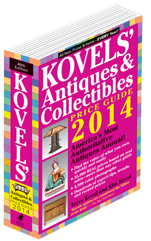 Kovels' Antiques & Collectibles Price Guide 2014, 46th Edition. Image courtesy Kovels.com.