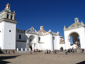 The Basilica of Our Lady of Copacabana was the scene of a notorious theft in April. Image by Anakin. This file is licensed under the Creative Commons Attribution-Share Alike 3.0 Unported license.