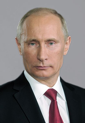 Russian President Vladimir Putin. Image by the Russian Presidential Press and Information Office, courtesy of Wikimedia Commons.